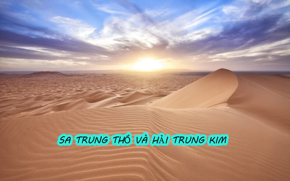 Mệnh Sa Trung Thổ và Hải Trung Kim liệu hình khắc hay cát lợi?
